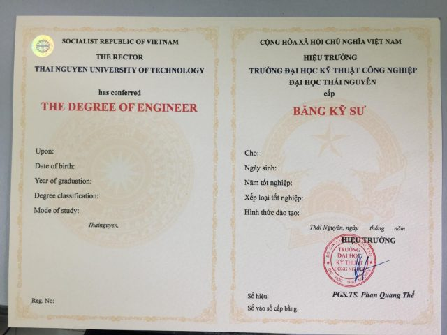 làm bằng đại học chính quy tại Đà Nẵng